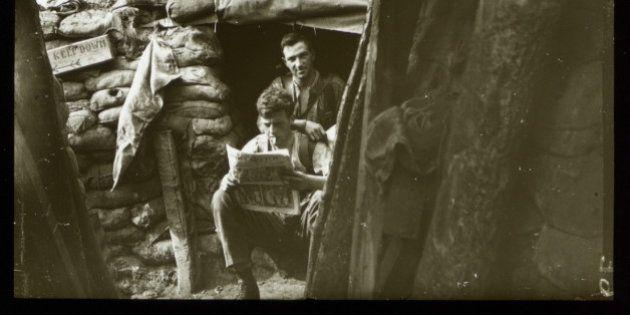 Aniversario de la Primera Guerra Mundial: las trincheras, como nunca las has visto