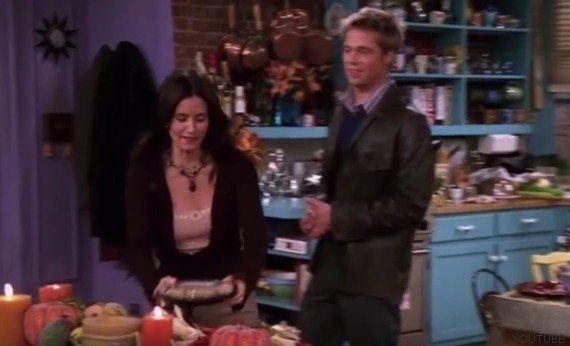 El error en este episodio de Friends con Brad Pitt del que no te diste