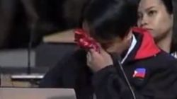 El portavoz de Filipinas rompe a llorar en la cumbre sobre el