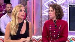 Marta Sánchez y Vicky Larraz firman la paz en 'Qué tiempo tan
