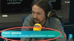 Montajes con el doble error de La1 y La2 con Pablo Iglesias