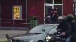El vídeo en el que se ve a uno de los tiradores de