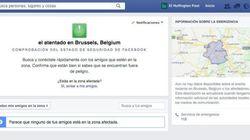 Facebook permite a tus contactos en Bruselas avisar de que están