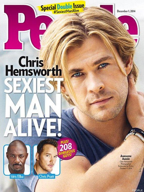 El actor Chris Hemsworth es el hombre más sexy de 2014, según 'People'