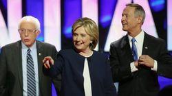 Hillary Clinton sale reforzada del primer debate