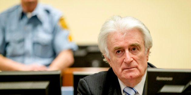 El exlíder serbobosnio Karadzic, responsable de crímenes contra la