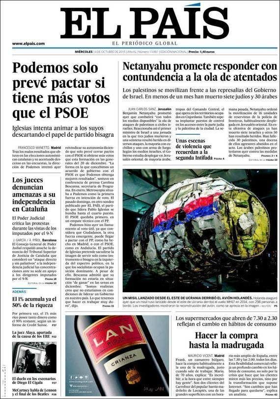 La actitud de Rajoy no gusta en Cataluña pero tampoco en su