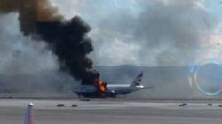Un avión de British Airways se incendia en Las
