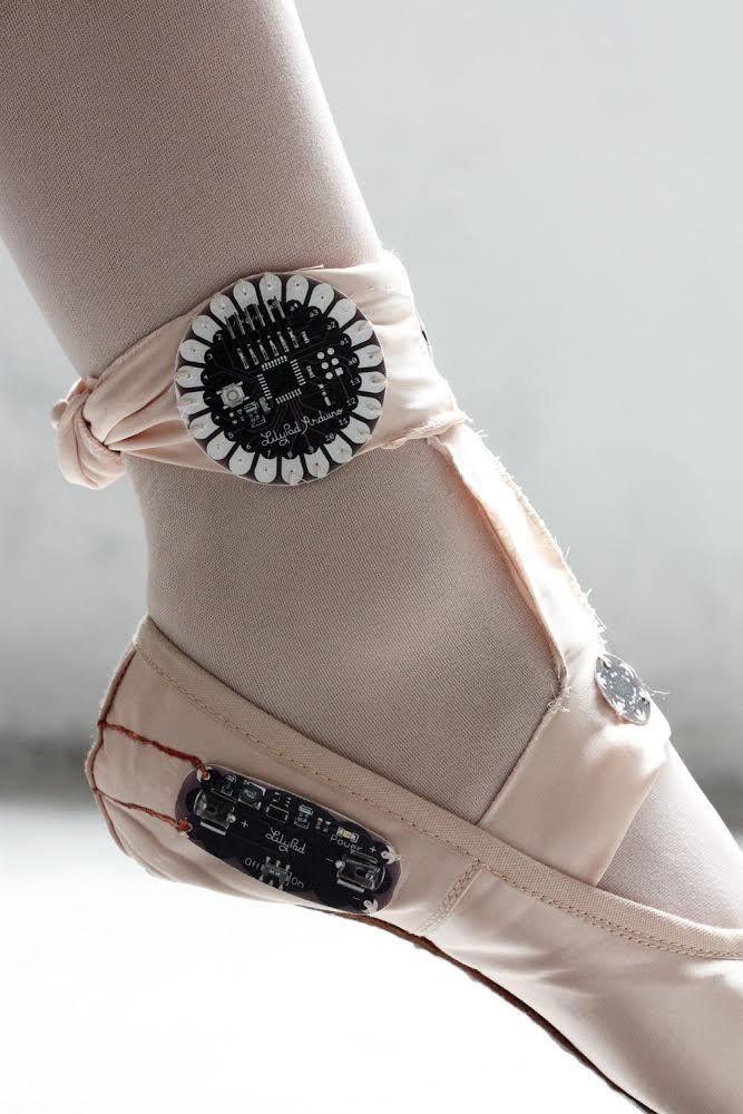 Estos zapatos de ballet de alta tecnología muestran lo explosivo que es el