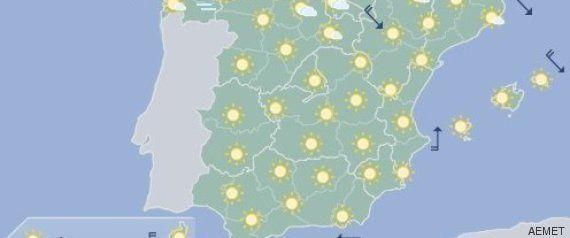 Sólo el Mediterráneo y el norte se salvan de mucho calor este