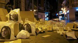 Ana Botella se aparece en la basura