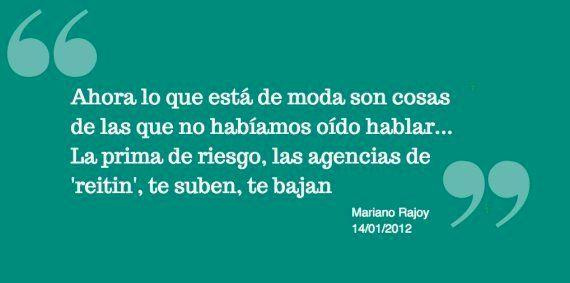 Las 9 peores frases de Rajoy que resumen sus tres años en el