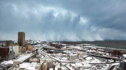 Las nevadas en Nueva York y otras 11 fotos del jueves que no te puedes