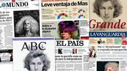 Revista de prensa: Últimas páginas en blanco y