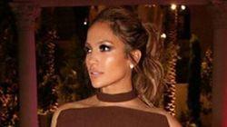 El increíble 'look' de Jennifer Lopez en su 47