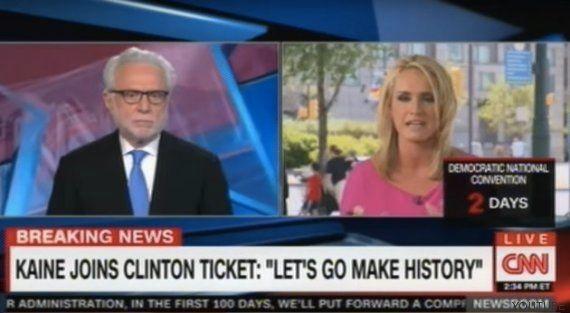 Una reportera de la CNN critica a Tim Kaine por hablar español y Twitter se le echa
