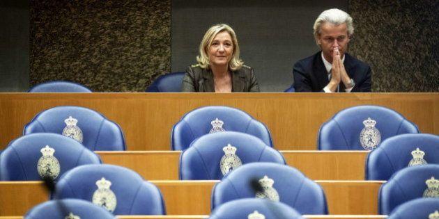 Marine Le Pen y Geert Wilders se alían para acabar desde dentro con el