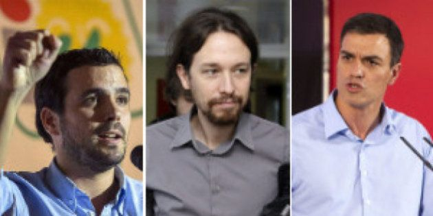¿Sánchez, Garzón o Iglesias? Los lectores de 'El HuffPost' prefieren al líder de