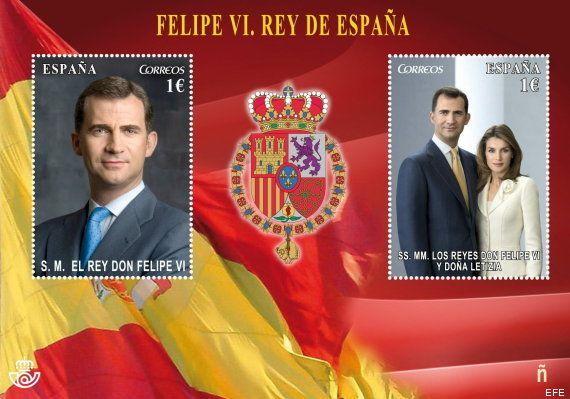 Los reyes Felipe y Letizia ya tiene su sello de Correos