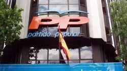 El PP pagó parte de la reforma de su sede con dinero de la caja