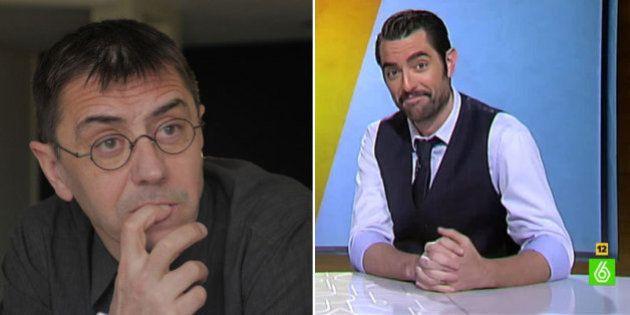 Discusión (y de las buenas) entre Monedero y Dani Mateo por sus chistes sobre Bódalo en 'El