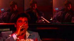 Blade, Terminator y Tony Montana entran en un bar