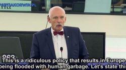 Un eurodiputado polaco llama