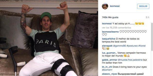 El enigmático mensaje de Messi en Instagram: ¿Qué significa esa