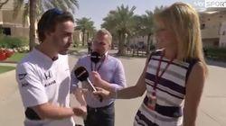 Alonso se va a por un comentarista de Sky Sport y le humilla ASÍ