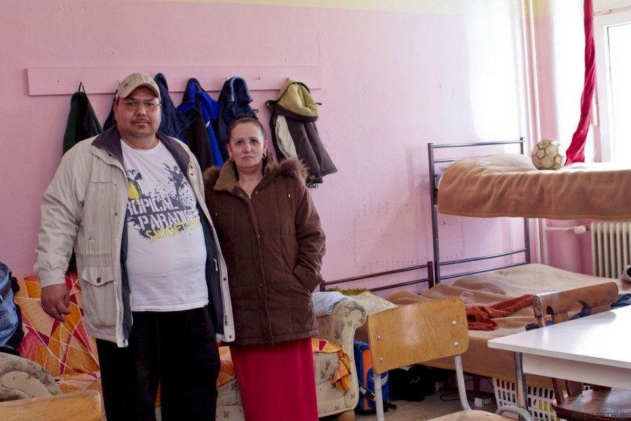 Qué hay dentro de un centro de refugiados