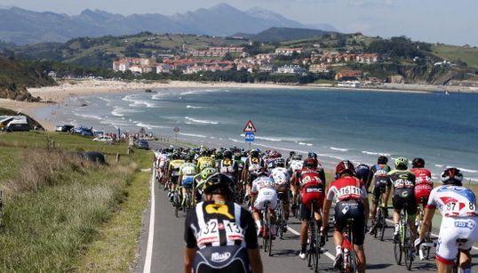 Los paisajes de España, vistos desde las cámaras de La Vuelta