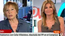 Twitter se mofa de Celia Villalobos por llamar así a Hillary Clinton en 'Espejo