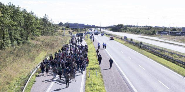 Dinamarca cierra la autovía con Alemania y suspende los trenes entre los dos
