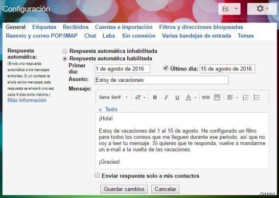 El truco de Gmail para encontrar la bandeja de entrada a cero tras las