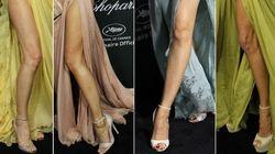 Escotes rarunos en Cannes: la fiesta de las piernas al aire