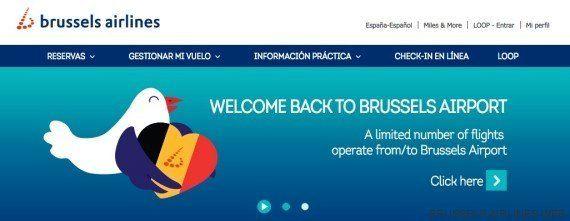Reabre el Aeropuerto de Bruselas con fuertes medidas de