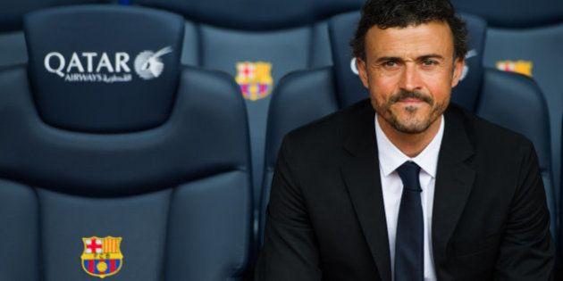 Luis Enrique, presentado como entrenador del Barcelona: