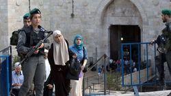 Israel bloquea los barrios palestinos de
