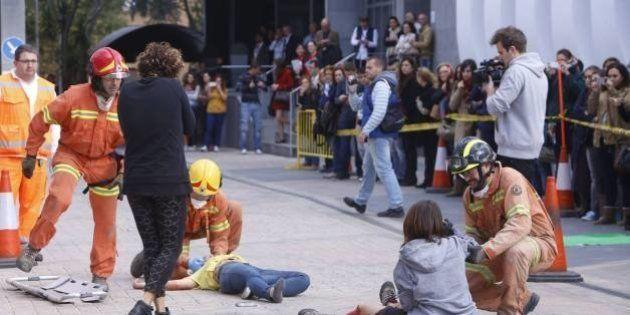 Comienza en Sevilla el mayor simulacro por un seísmo de