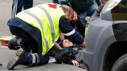 El brutal atropello de una musulmana por un 'ultra' en