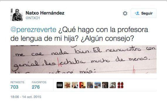 La contundente respuesta de Pérez-Reverte a este