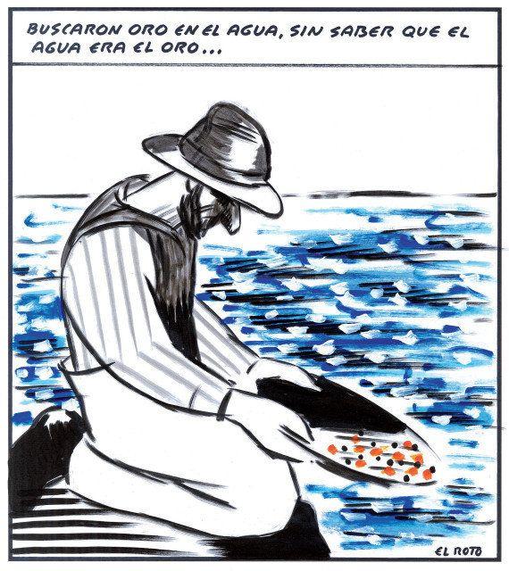 'El libro verde' de El Roto: sátira para reflexionar sobre el daño al medio