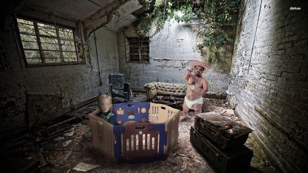 La foto de infancia de Trump que está desatando el humor internauta