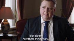 El enfado del primer ministro de Islandia cuando le preguntan por los 'papeles de