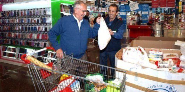 El Banco de Alimentos espera recoger en tres días 20 millones de kilos de