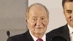 Juan Carlos I reaparece para recoger un premio de empresarios