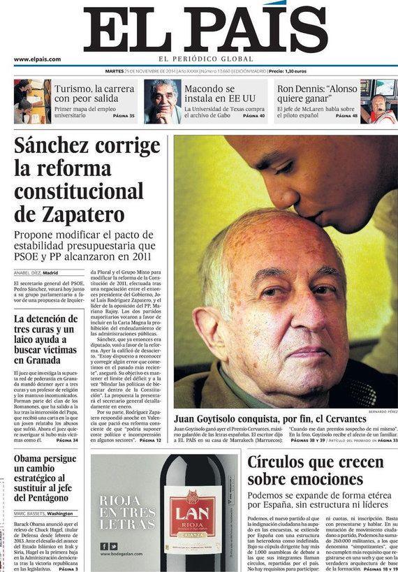 Revista de prensa 25-11-2014: España desde