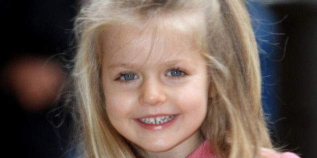Así es la infanta Leonor, la heredera más joven de Europa