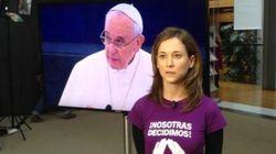 El aplauso de Pablo Iglesias al papa y el plante de Izquierda