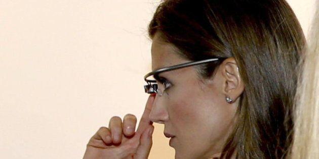Letizia con Google Glass: visita de los Príncipes a la sede de la compañía